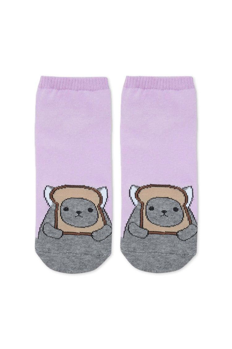 Mouse Breading Ankle Socks