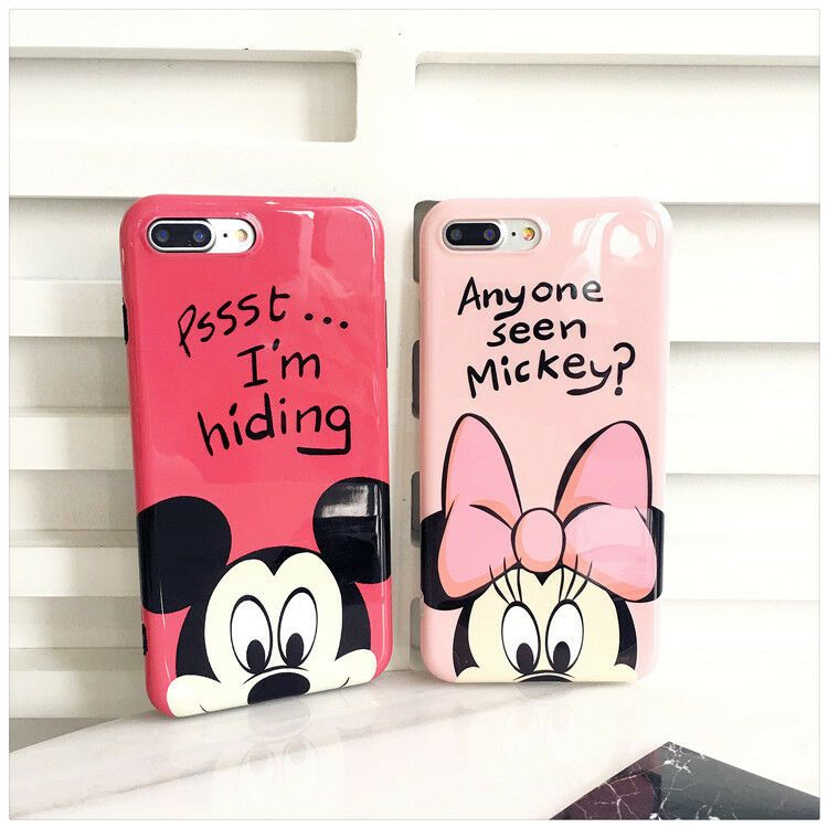 For iphone x xsmax xr 6s 7 8plus cartoonmouse duck piglet