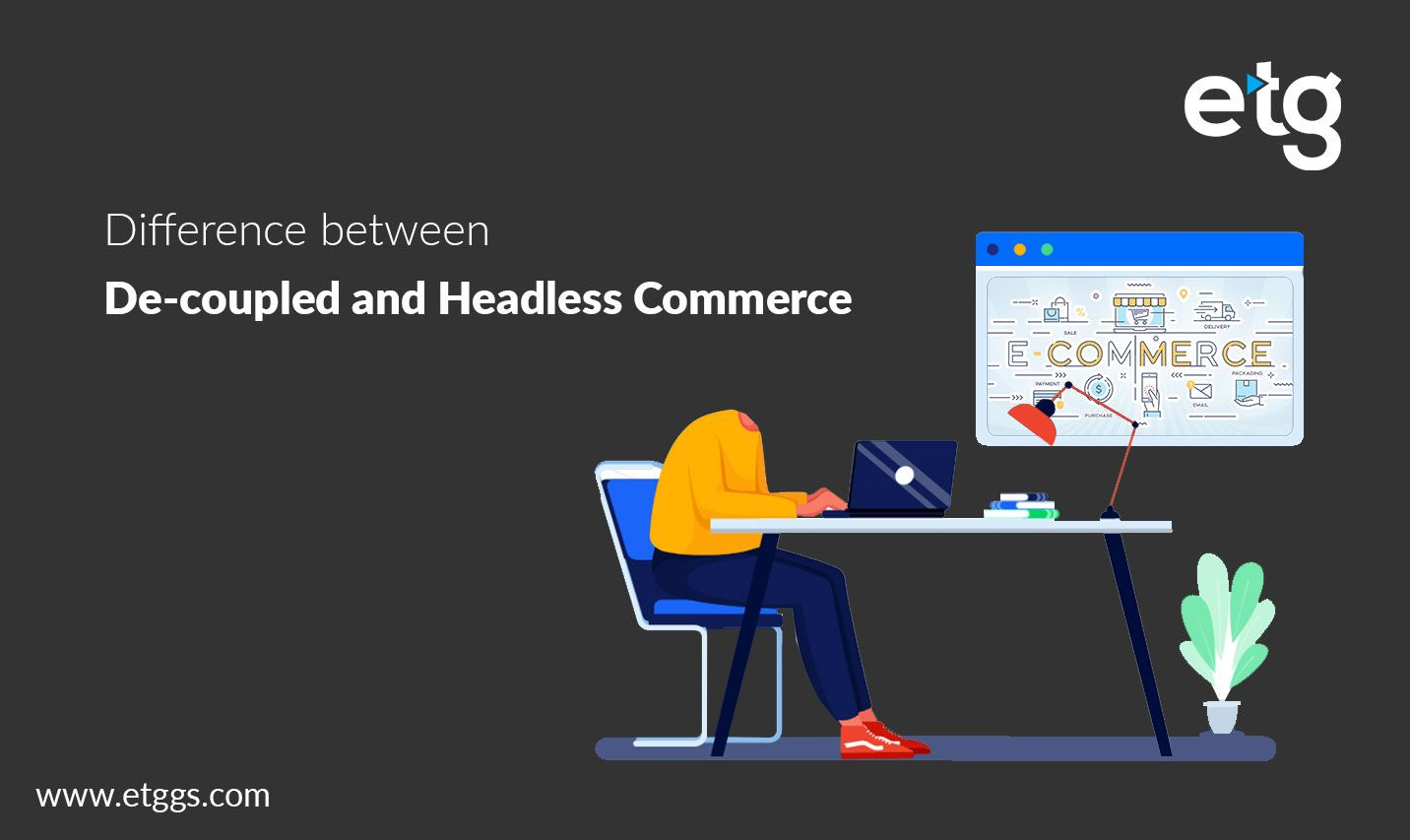 Decoupled and headless commerce solutions