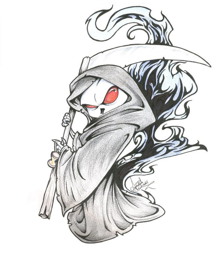 Grim Reaper By Shinga On Deviantart Grim Reaper Art Reaper