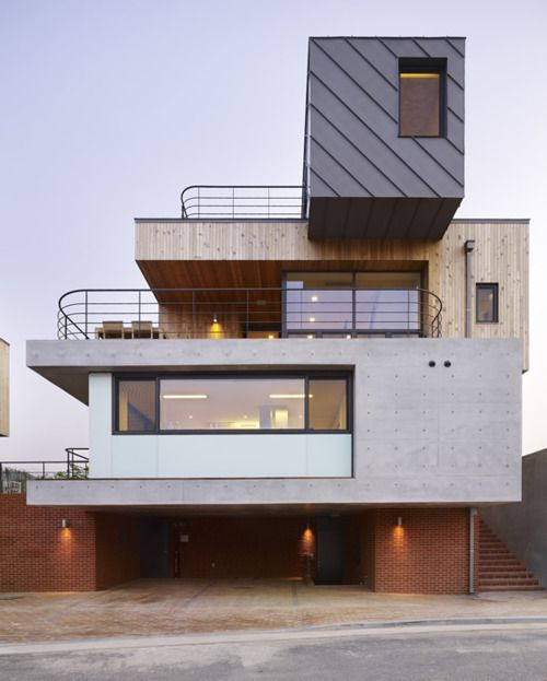 Nice stack of four basic building materials | Exteriors | Pinterest ...