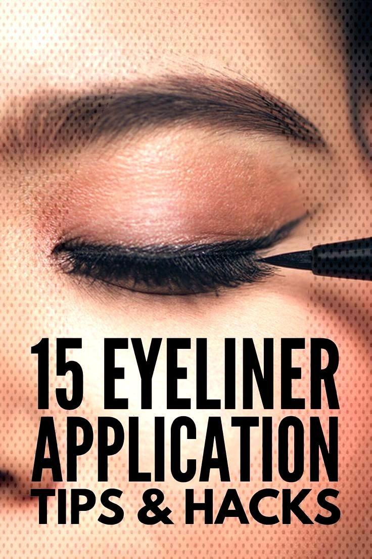 Eyeliner Hacks for Beginners 15 Makeup Tricks We Love#beginners