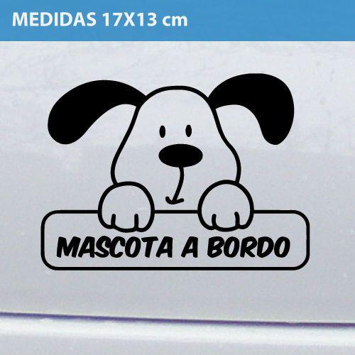 Detalles de mascota a bordo perro mascota vinilo adhesivo for Vinilo adhesivo coche