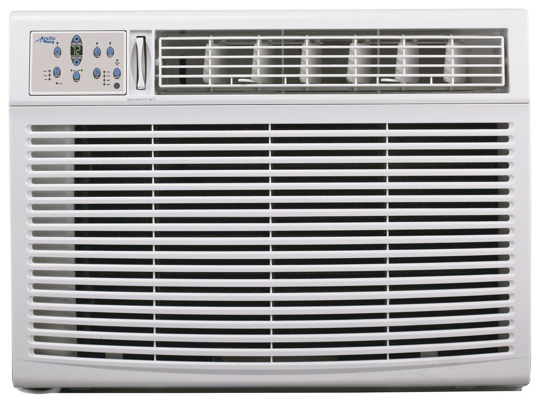 25,000 BTU Window Air Conditioner with Heater and Remote