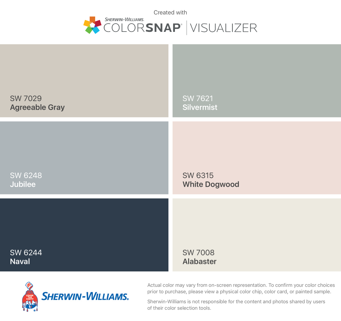 Naval Sherwin Williams I Found These Colors With Colorsnap 174 Visualizer For Iphone