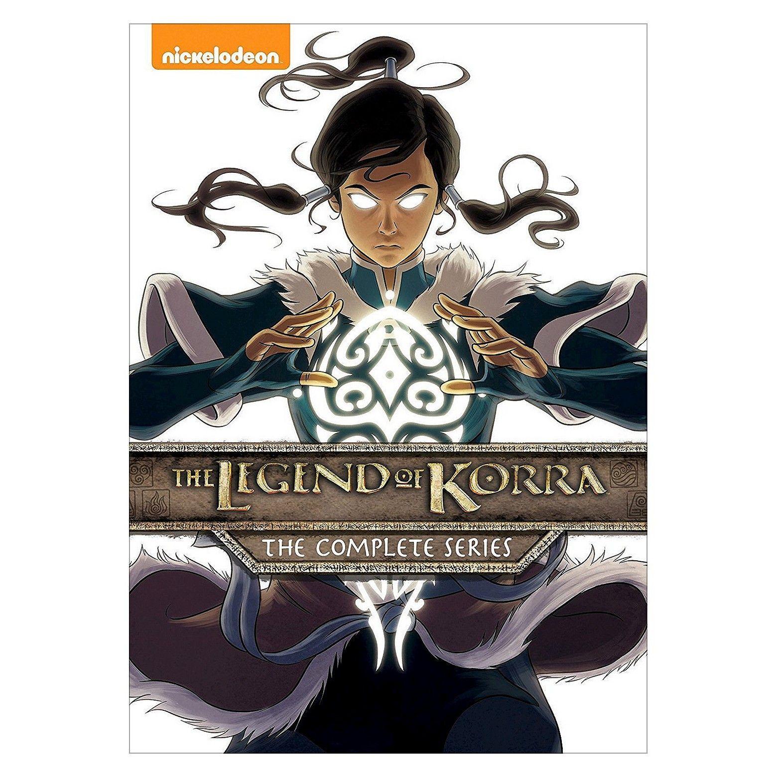 Legend Of Korra The Complete Series Dvd Legend Of Korra