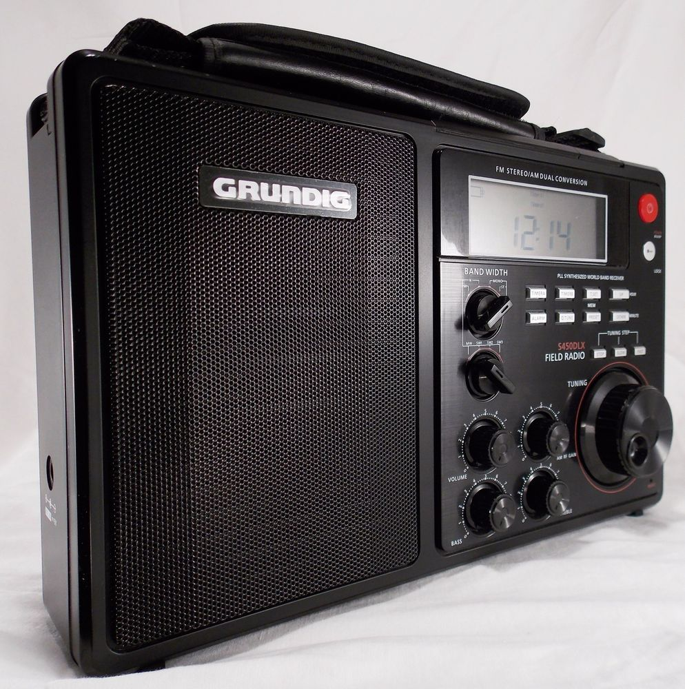 Eton Ngs450dlb Grundig S450dlx Deluxe Am Fm Shortwave Manual Guide
