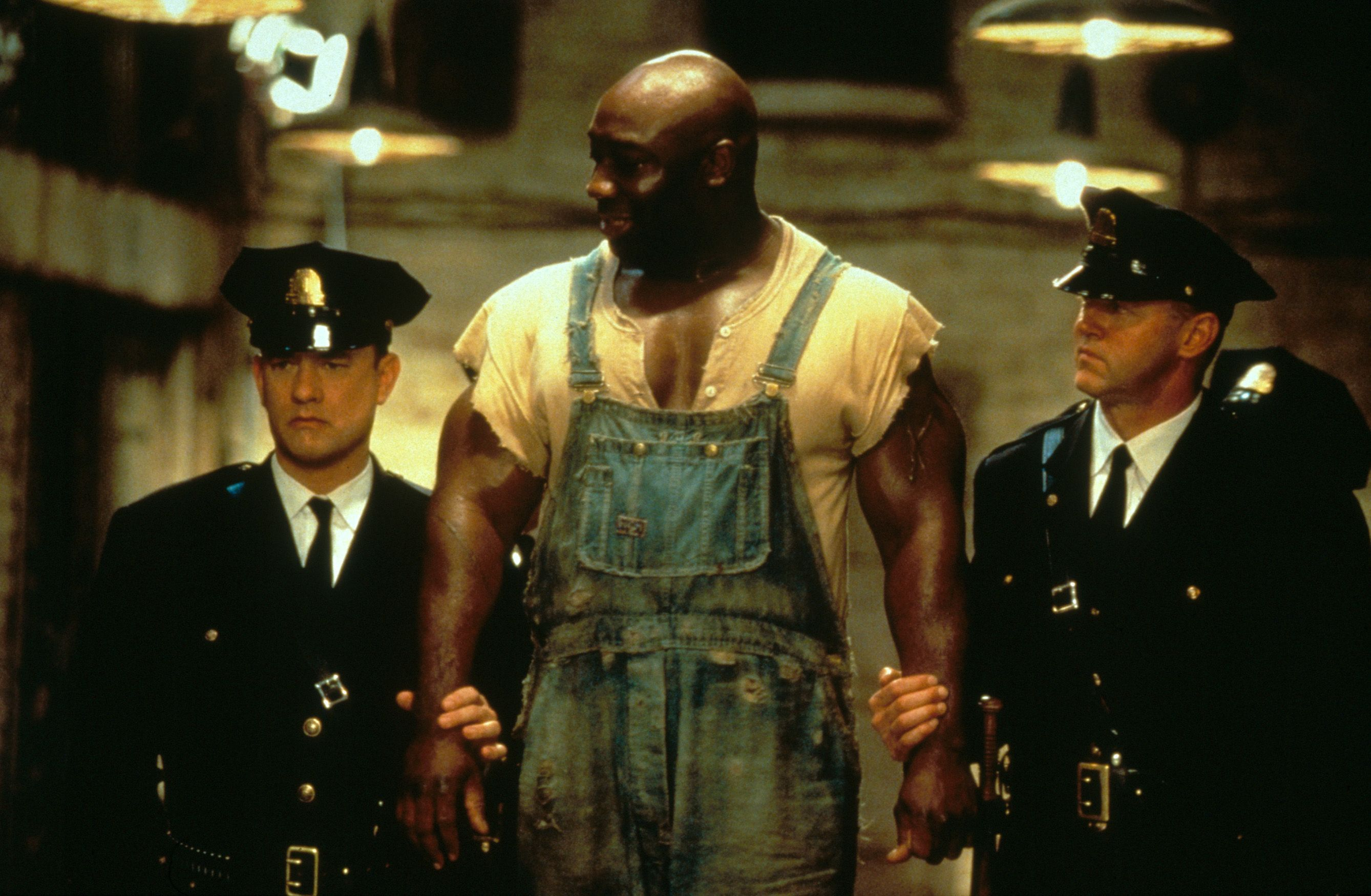 """The Green Mile"" movie still, 1999. L to R Tom Hanks"