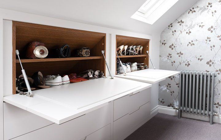 Küchentisch Poco ~ Small childrens desk eaves storage loft storage and lofts