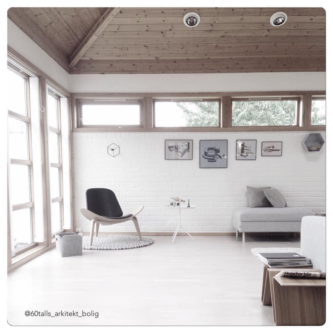 Ny dag, ny uke! Hurra! #getshitdone #workinprogress Hva produserer du i dag? #interior #interior123 #livingroom #home #ch07 #chair #wegner #hansjwegnerchair  #hay #design #papermaster #bolia