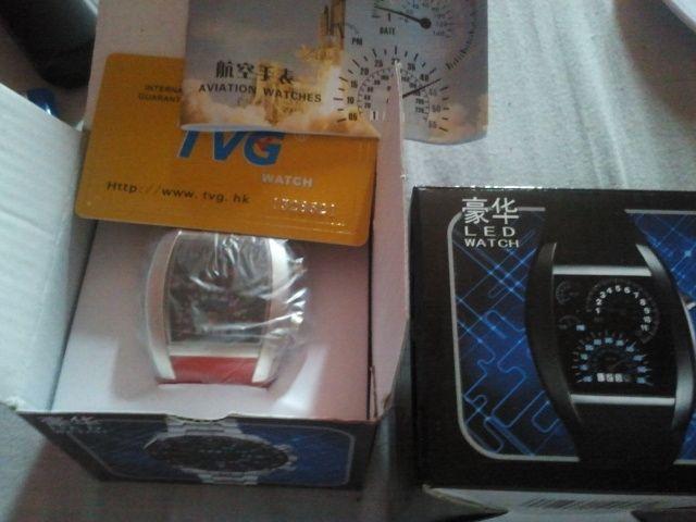 ساعة التيربو علبة وكتالوج وضمان السعر 100 ريال للساعه وللجملة اسعار خاصة Led Watch Aviator Watch Electronic Products