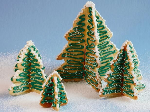 Christmas Tree Cookie Forest Recipe Winter Holiday Ideas