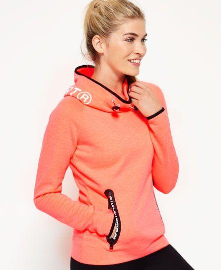 Superdry Sweat à capuche Gym Tech Cowl Femme Superdry Sport