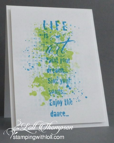 Life is Art, Paint Your Dreams