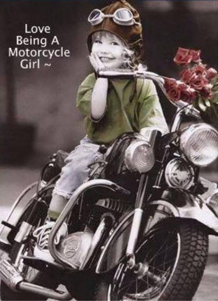 It S True I Do Bajkersha Retro Motocikl Dlya Devushki