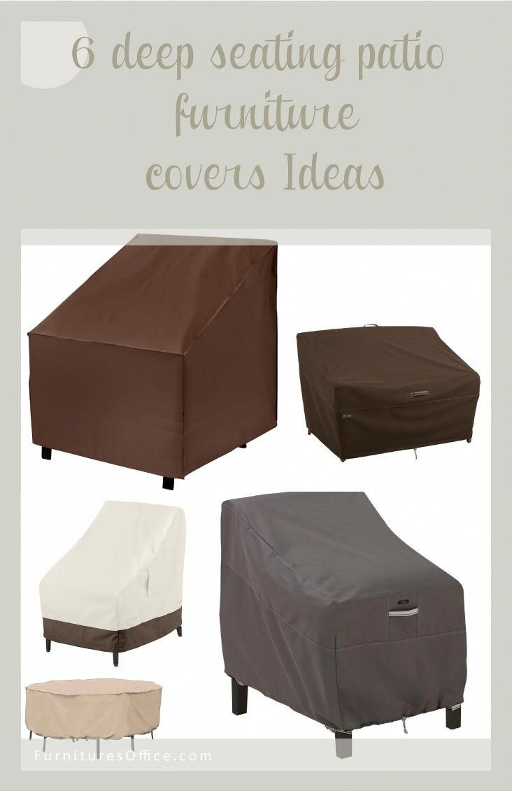 deep seating patio furniture covers ideas this best picture rh pinterest com au Deep Seating Cushions Indoor Deep Seating Chair
