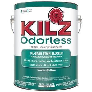 Kilz Original 1 Gal White Low Odor Oil Based Interior Primer