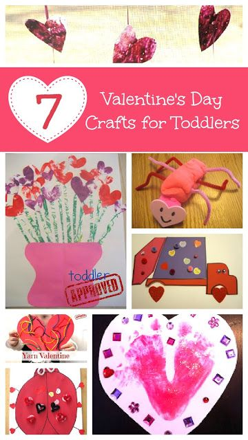 7 Valentine S Day Crafts For Toddlers Kid Blogger Network