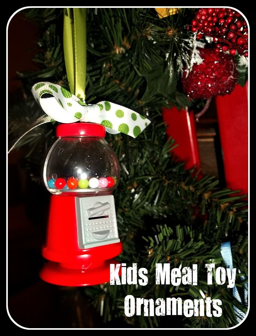 Craft goodies kids meal toy ornaments cute gift ideas