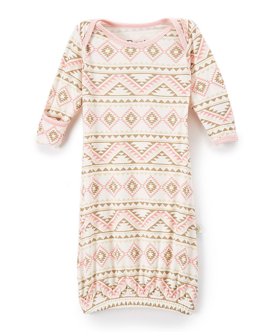 Look at this Bestaroo Pink Zigzag Gown on #zulily today!