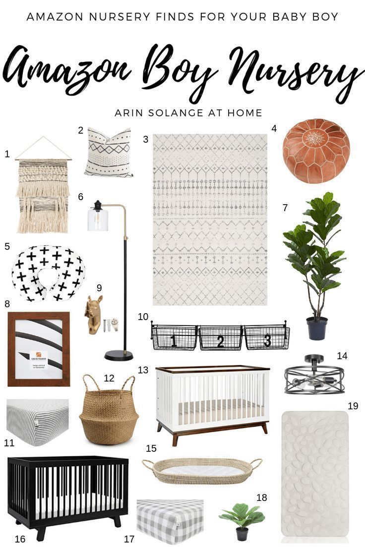 Boy's Nursery Amazon Finds - arinsolangeathome