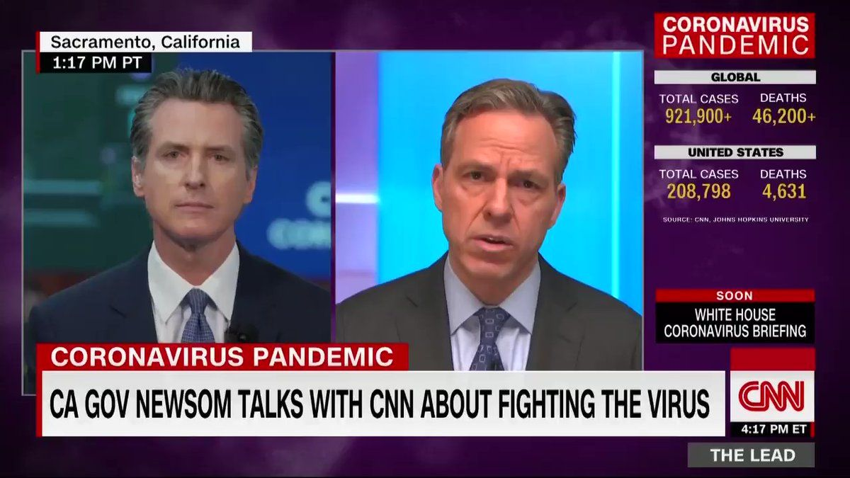 """Gavin Newsom on Twitter """"There's no greater intervention"""