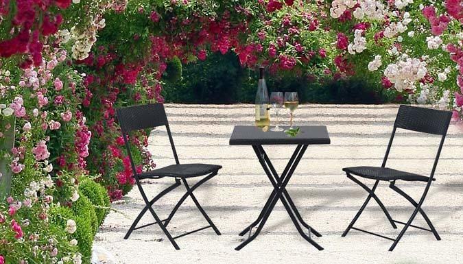 Buy 3-Piece Rattan Garden Furniture Set UK deal for just £4999
