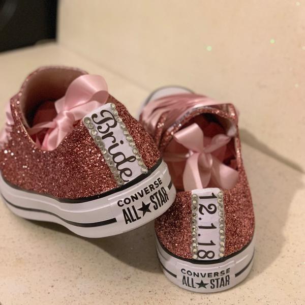 Stars Bride Wedding Shoes sneakers