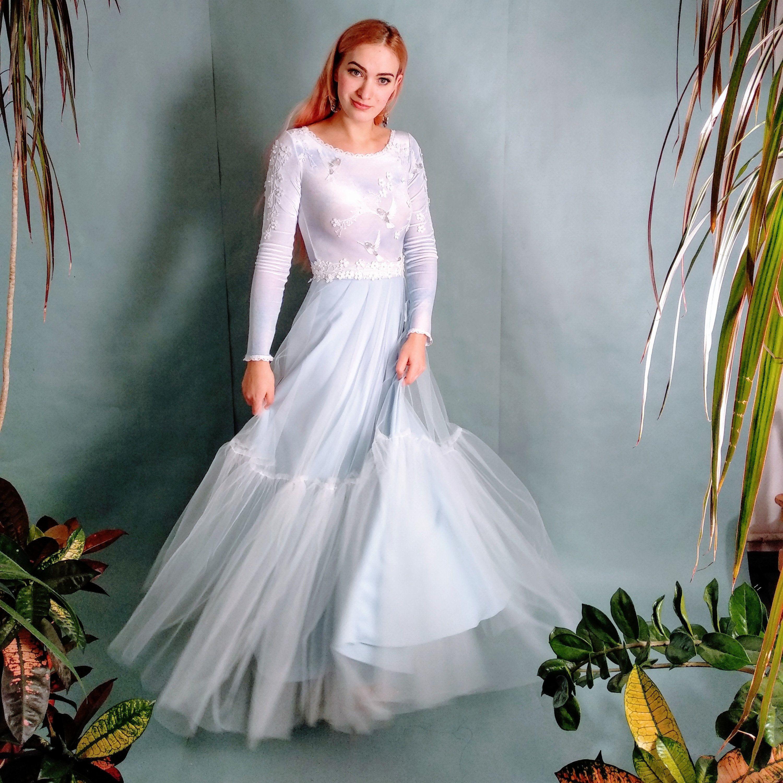 This Item Is Unavailable Etsy Blue Velvet Long Sleeve Dress Long Sleeve Velvet Dress Alternative Wedding Dresses [ 2999 x 3000 Pixel ]