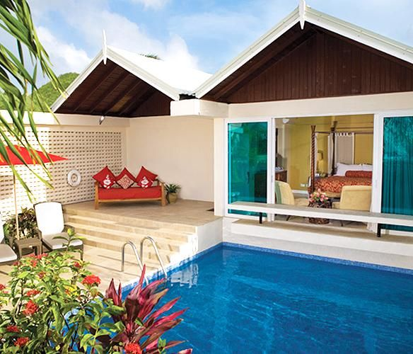 16 Honeymoon Resorts With Private Plunge Pools Beach Island Resort Couples Resorts Honeymoon Resorts