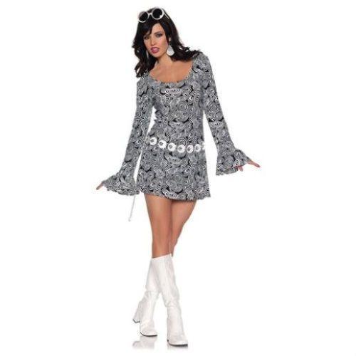 Fab At 70: Adult Womens 60's 70's Retro Fab Disco Go Go Girl Diva
