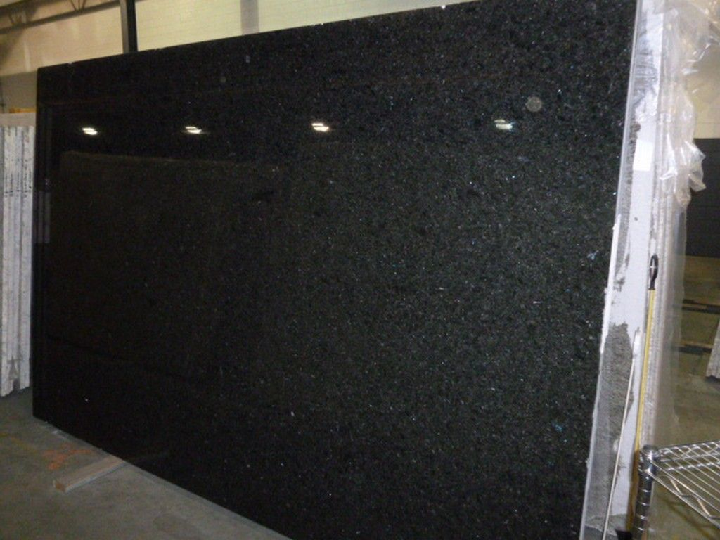 This Piece Is Called The Blue In The Night Granite This Is A Natural Granite Counter Top Perfect For Kitch Natural Granite Granite Slab Granite Countertops