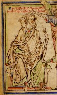 A biography of Alfred the Great, 9th C. Anglo-Saxon King of Wessex