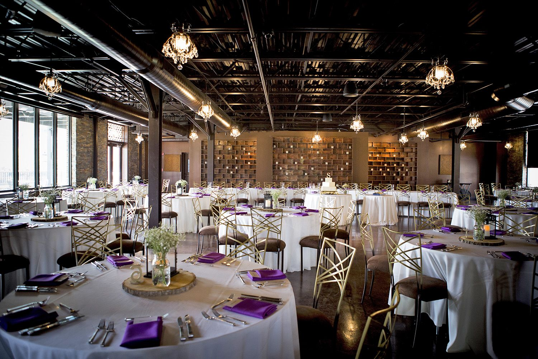 The 1st Floor Of The Unique Chic Rustic Wedding Reception Venue