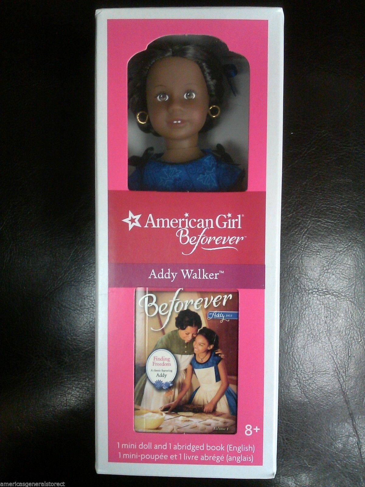 American girl beforever 6 mini doll 2014 addy walker mini