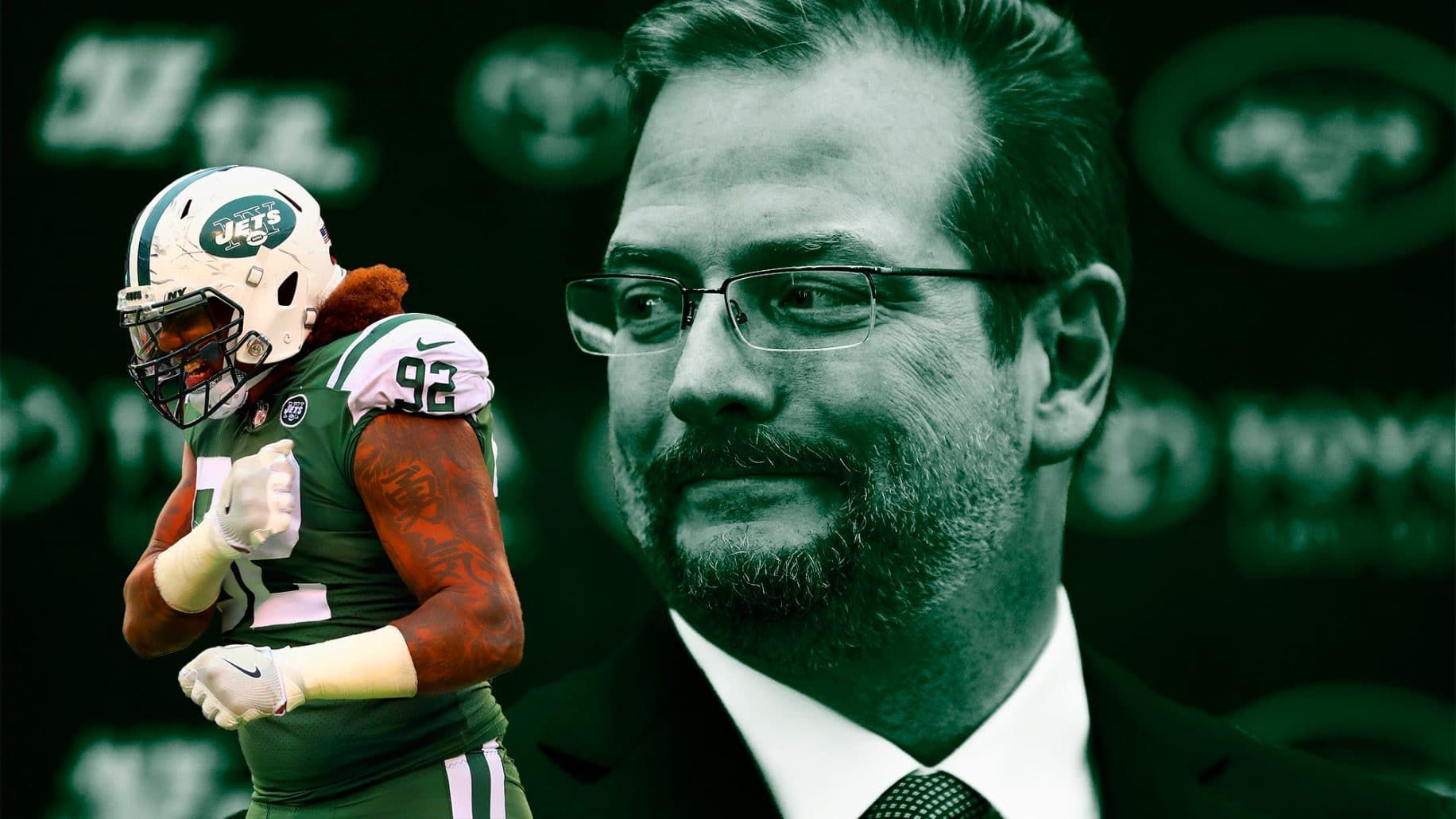 New York Jets General Managers Mike Maccagnan Inexplicably Dismisses The Defensive Line As A Non Positional Need On Monday It S New York Jets Tv Shows Sheldon