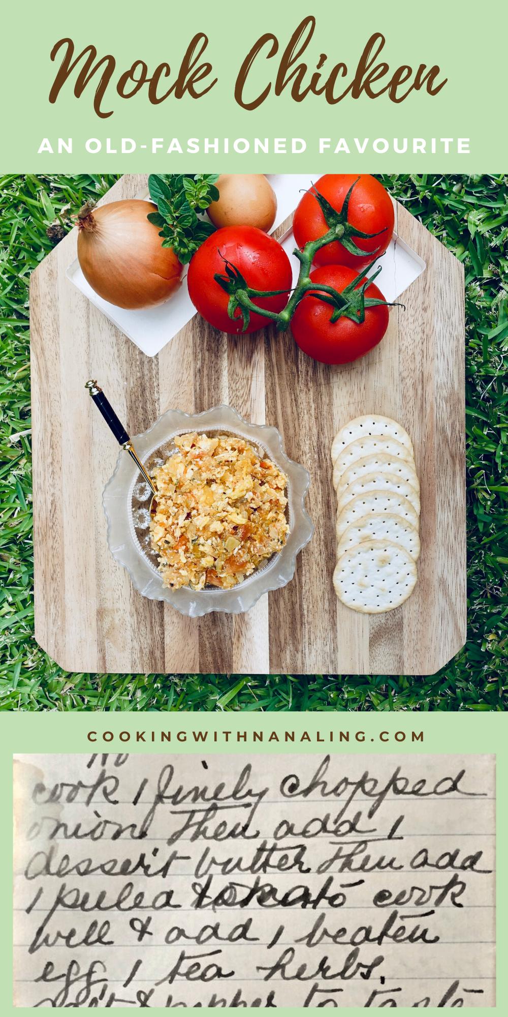 Mock Chicken Treasured Family Recipe Cooking With Nana Ling Recipe Mock Chicken Cooking Recipes Recipes