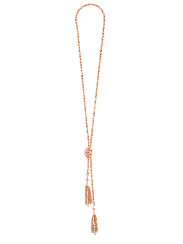 { Gold Tassel Necklace } #fashion #style #accessory #jewelry