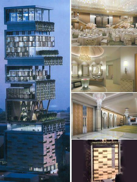 The World S First Billion Dollar House Location Antilla Mumbai