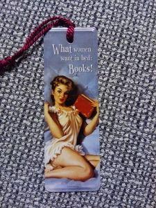 Kirjanmerkki What Women Want In Bed 4 €