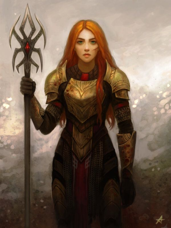Commission - Miriam by Aerenwyn on DeviantArt | Fantasy ...