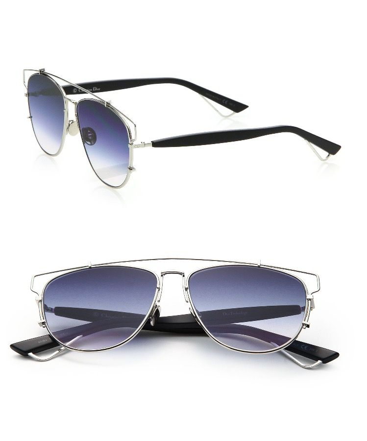 Dior Technologic 57mm Pantos Sunglasses Colour  Palladium ... ff5dc4a6cd31