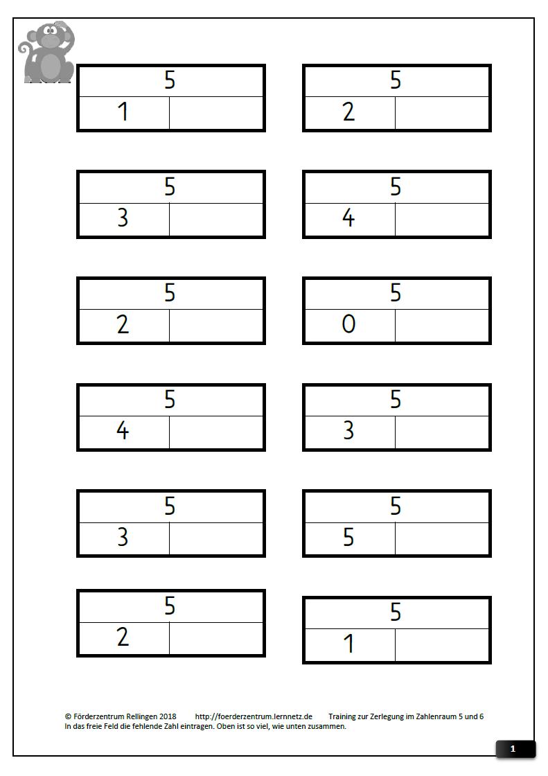 Ausgezeichnet Teil Teil Ganze Mathematik Arbeitsblätter Der Ersten ...