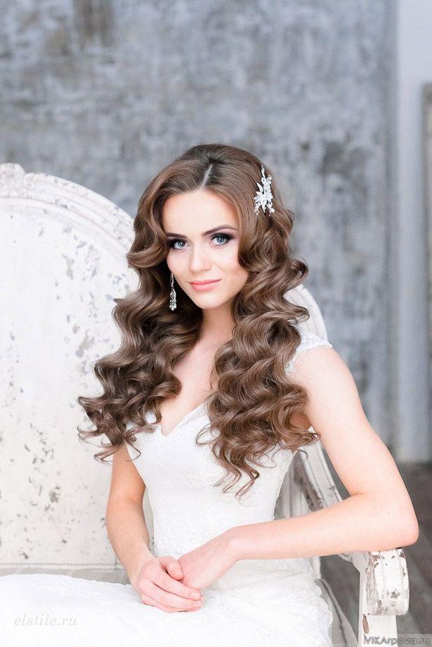 Loose Curls Wedding Hair And Makeupbridal