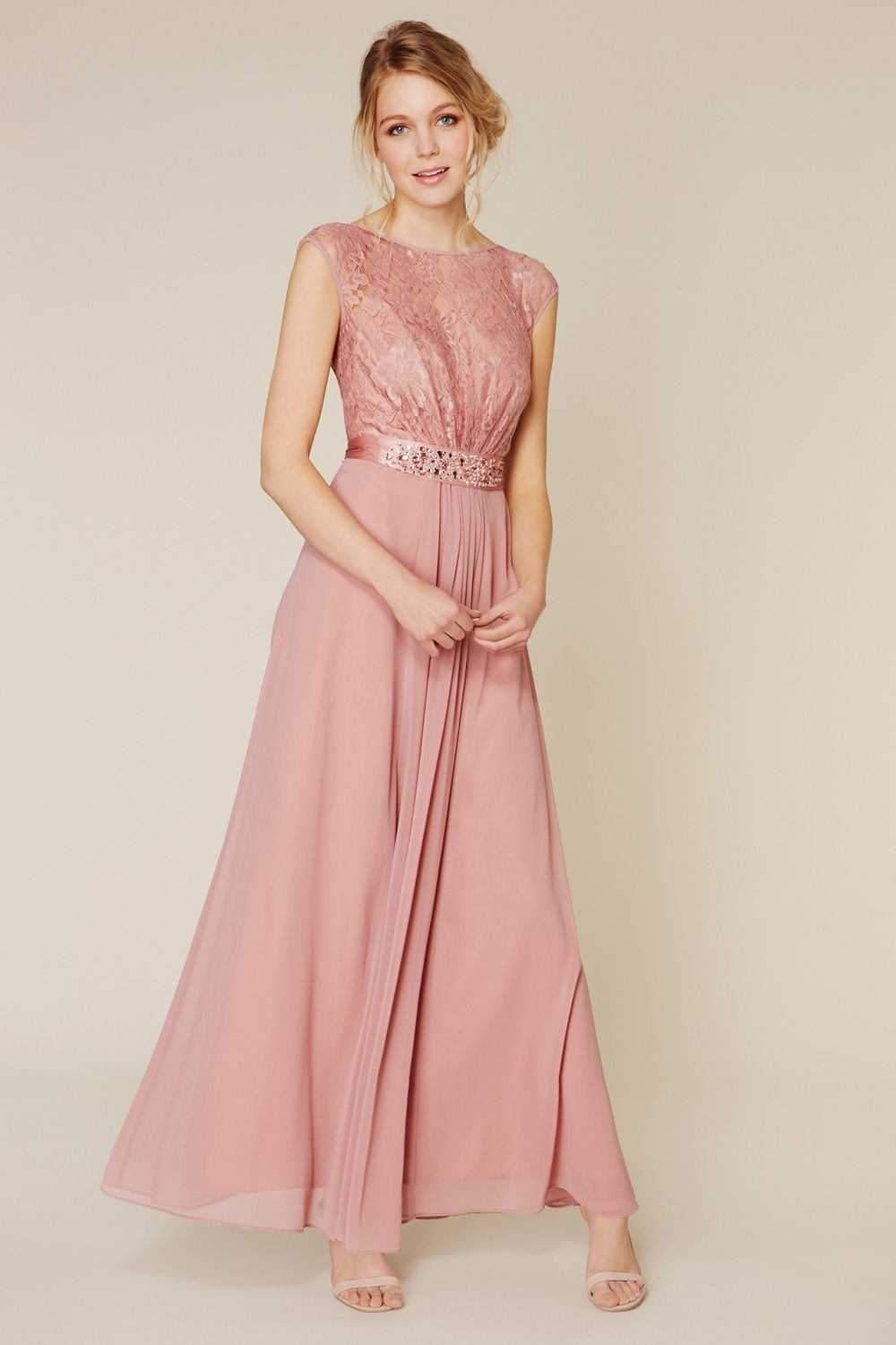 All Dresses | Pinks LORI LEE LACE MAXI DRESS | Coast Stores Limited ...