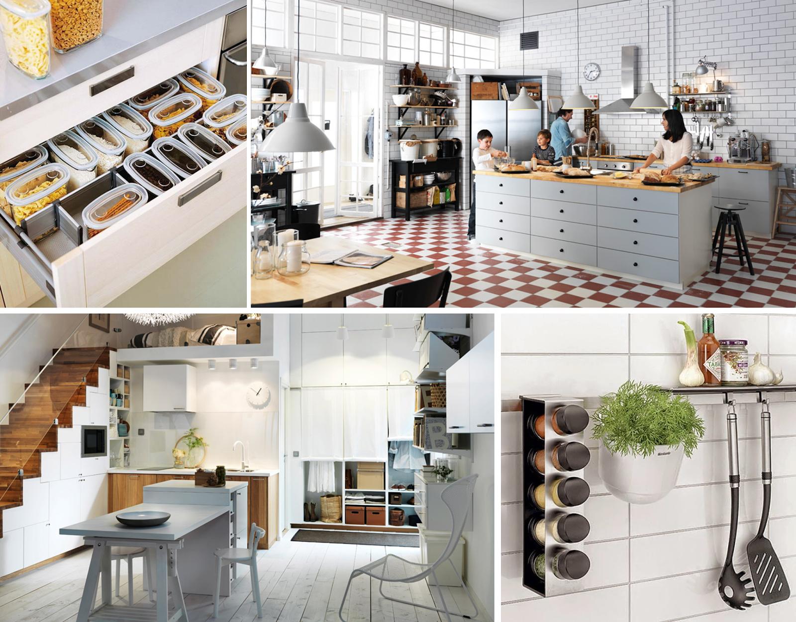 7 ideas para poner en orden la cocina cocinas cocinas for Utilisima decoracion de interiores