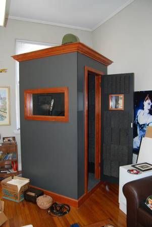 Custom booth made by a cabinet maker  $2,600 | Vocal Booths