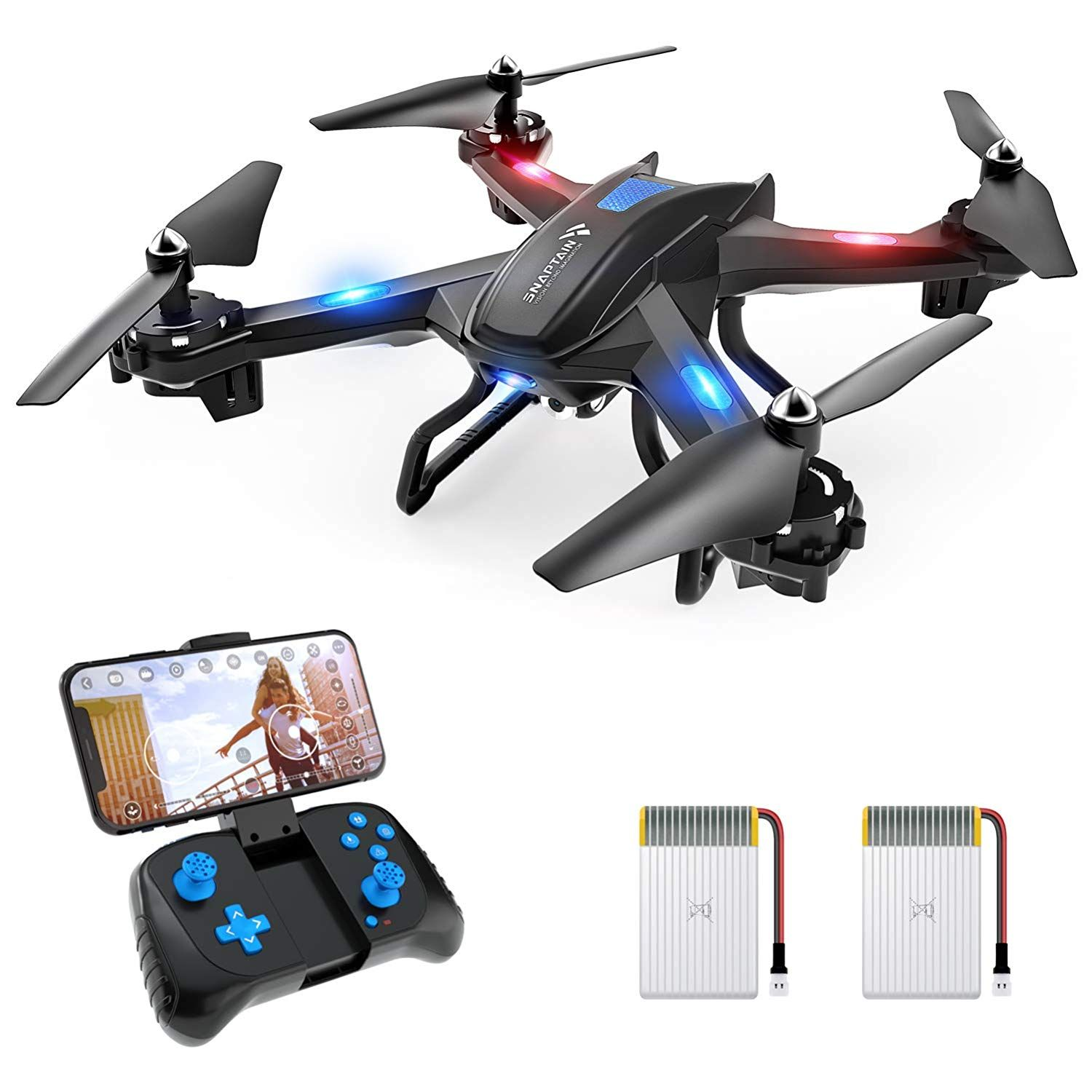 Photo of SNAPTAIN S5C WiFi FPV Drone with 720P HD Camera, Voice Control, Gesture Control RC Quadcopter for Beginners with Altitude Hold, Gravity Sensor, RTF One Key Take Off/Landing, Compatible w/VR Headset – Walmart.com
