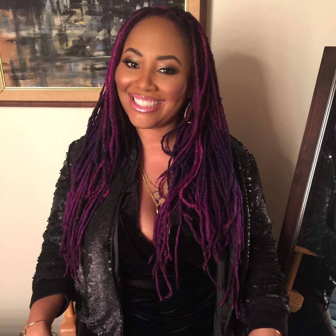Lalah Hathaway On Instagram March Locs Hairstyles Hair Styles Natural Hair Styles