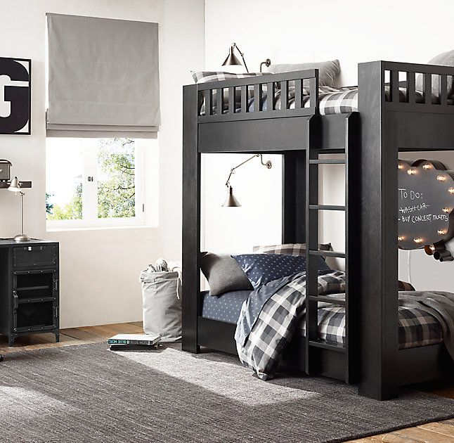 Classic Bunk Bed Reimagined In A Clean Contemporary